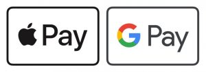 Apple Pay / Chrome Pay / Google Pay